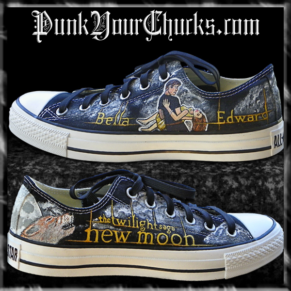 Converse Chart Size: Twilight New Moon Converse by punkyourchucks on DeviantArt,Chart
