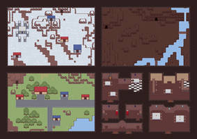Some RPG Maps