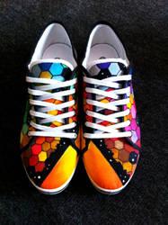 Jessman5 custom shoes. [The Resistance. MUSE]