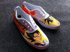 Jessman5 custom shoes. [Dragonball]