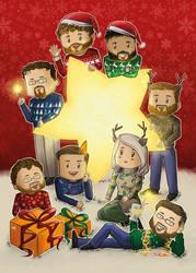 Christmas Postcard 2016 by Jessman5