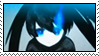Black Rock Shooter Stamp by FantasyAshley