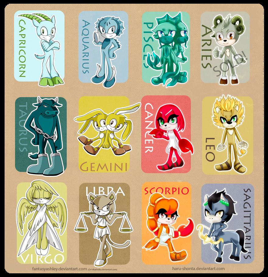 Sonic Horoscope [ADOPTABLES AUCTION Open] by FantasyAshley