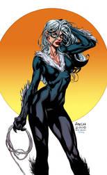 Black Cat Finch by K-Bol