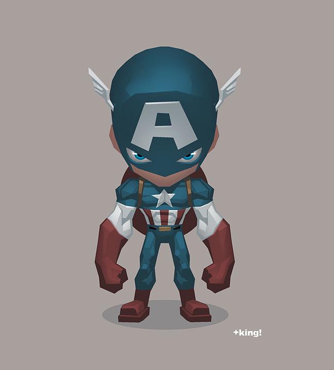 CAPTAIN AMERICA by K-Bol