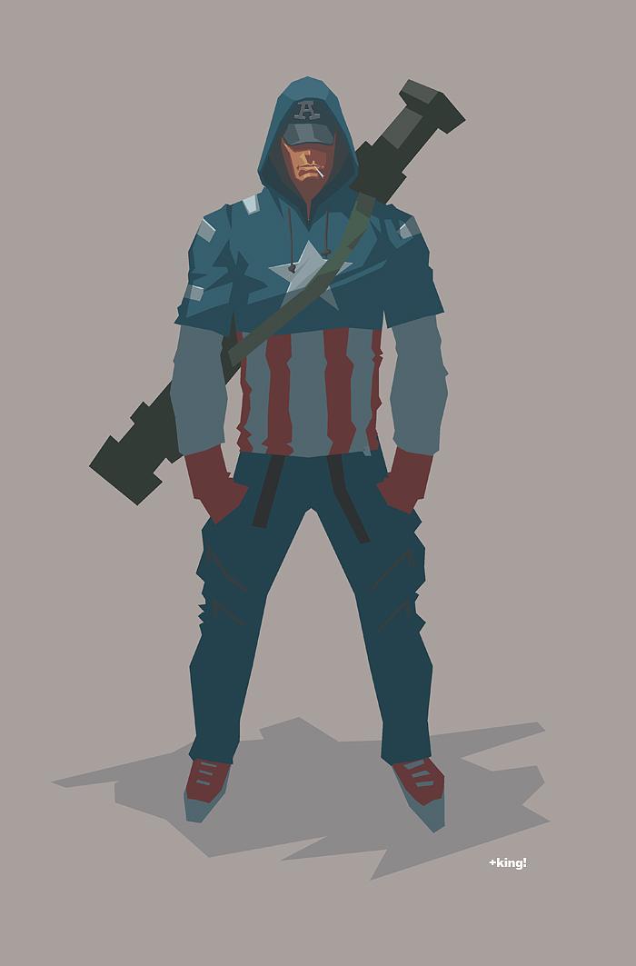 CAPTAIN AMERICA 2 by K-Bol