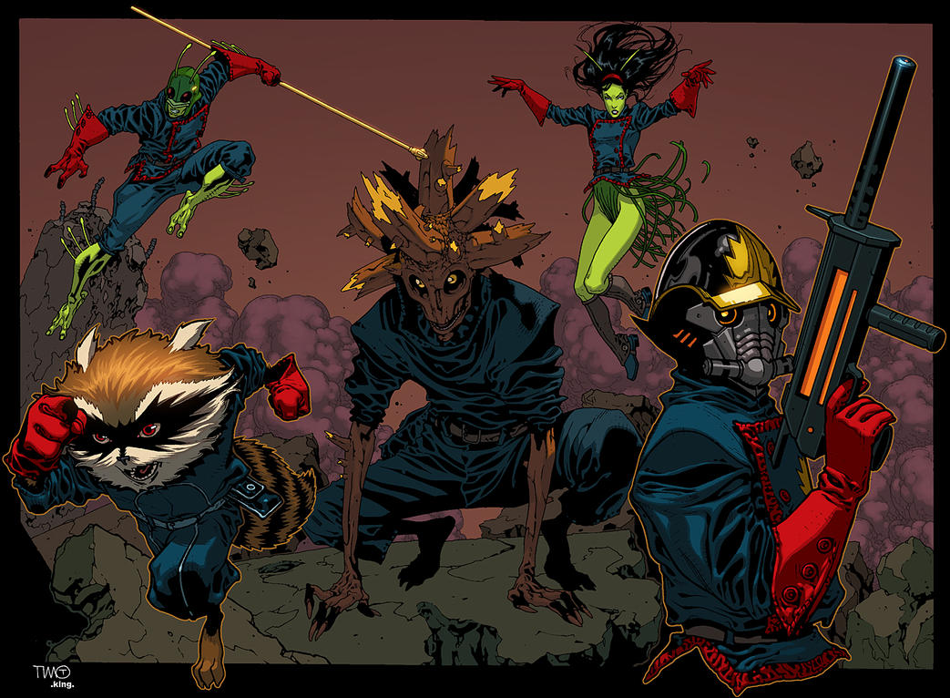 Guardians Of The Galaxy by K-Bol