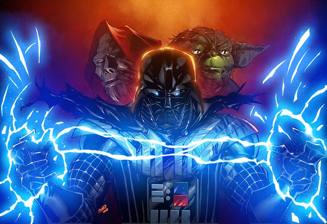 Darth Vader (Star Wars) vs Avatar of Khaine (Warhammer 40K