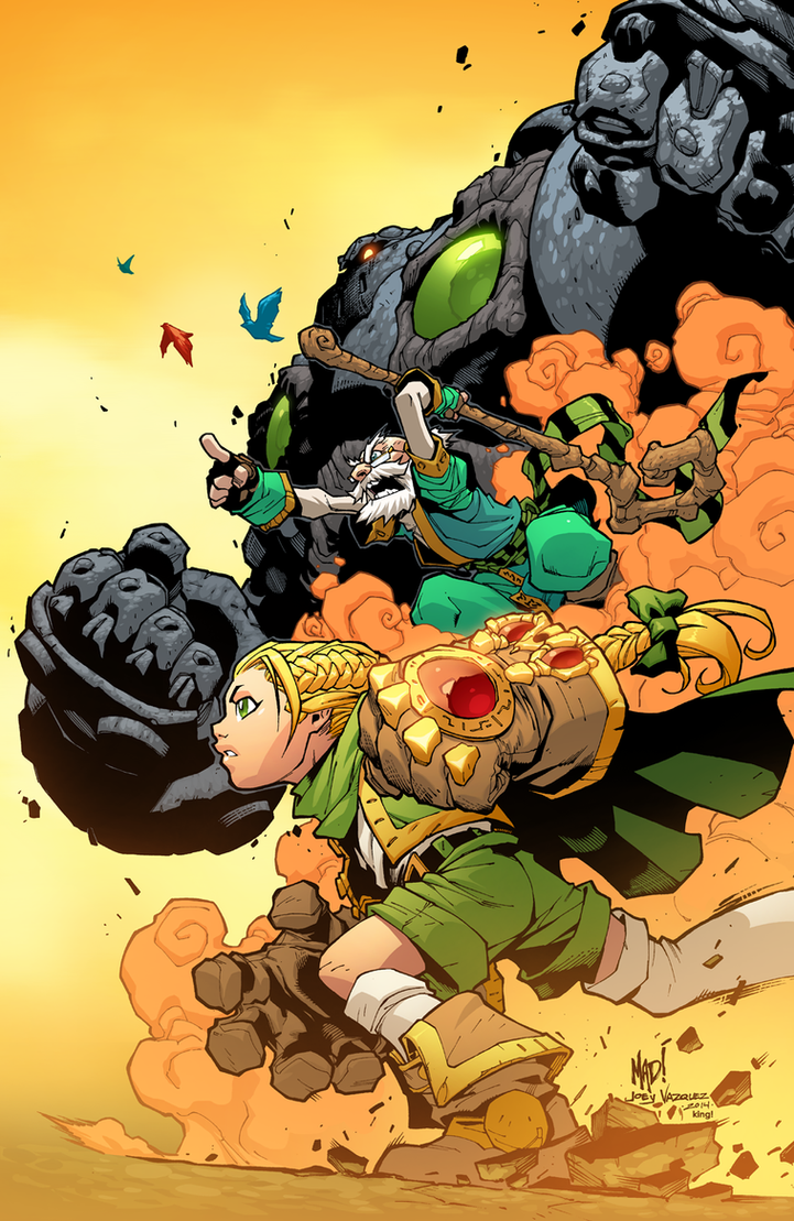 Battle Chasers by K-Bol