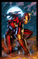 THE INVINCIBLE IRON MAN by K-Bol