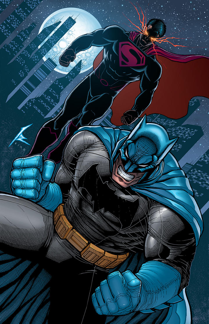 Dc Comics Fans : Superman and batman by k bol on deviantart