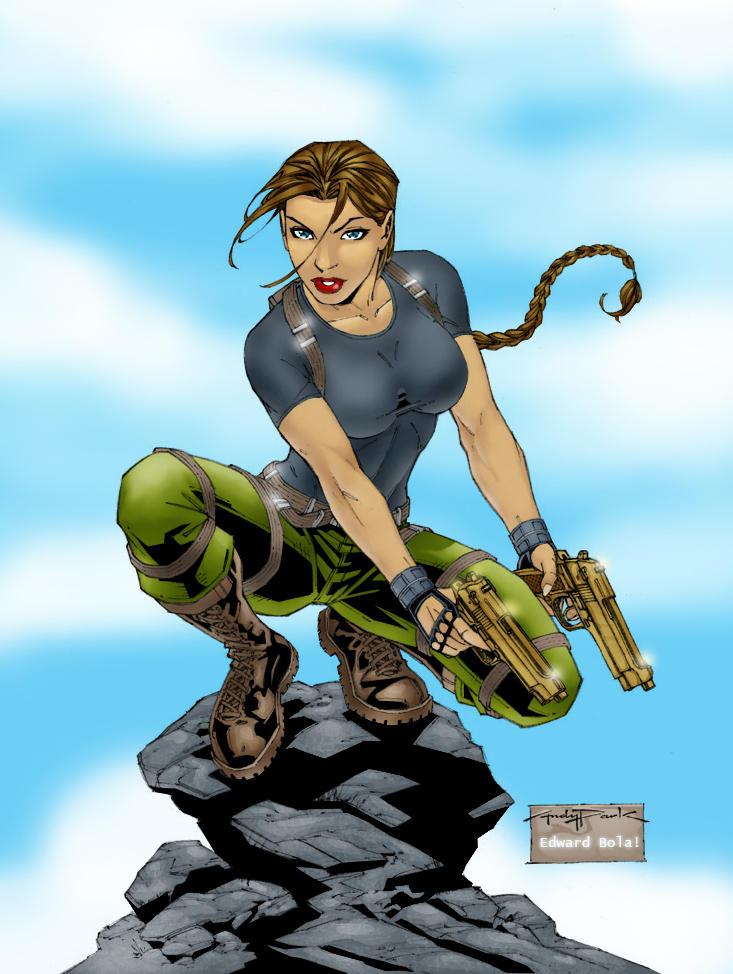 Tomb Raider by K-Bol