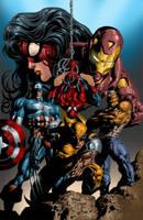 New Avengers by K-Bol