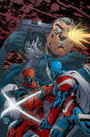 Cable and Deadpool Cover