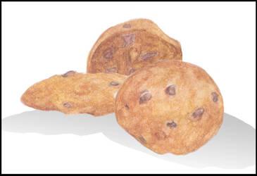 Cookie Three Ways by rokuryustudios