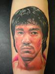 Bruce Lee Color Portrait