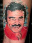 Burt Reynolds Color Portrait