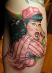 Betty Page Portrait
