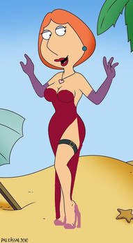 Lois Griffin as Jessica Rabbit