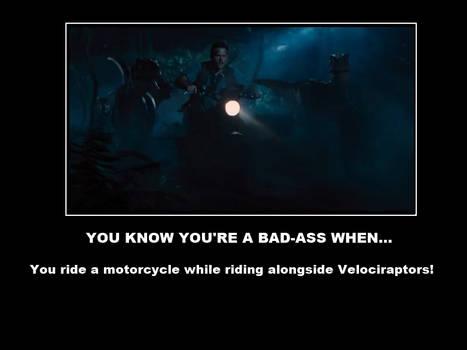 Jurassic World Motivational Poster
