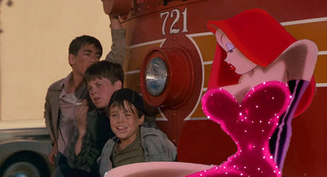 Jessica Rabbit on the Redcar