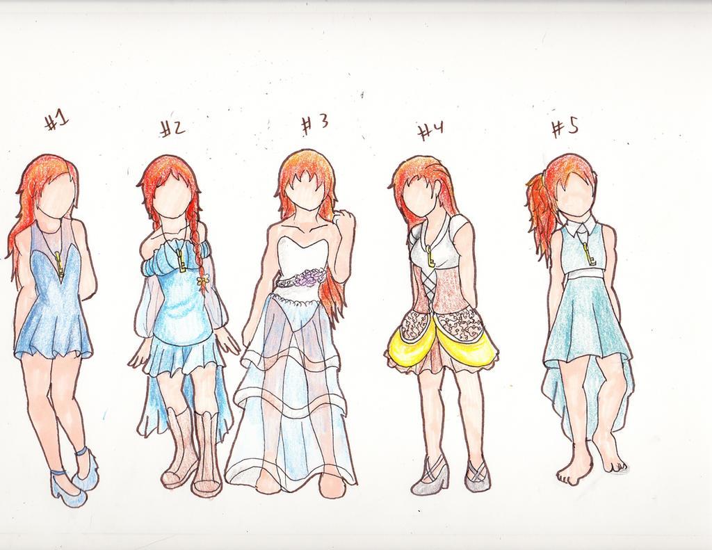 Allie Alyss dress designs by emilyk949