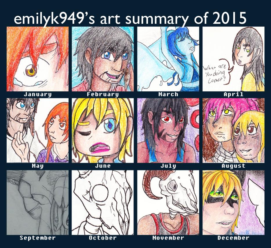 Art Summary 2015 by emilyk949