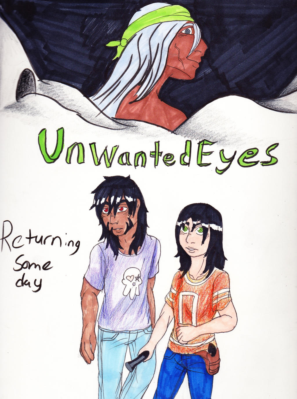 Unwanted Eyes RD Cover by emilyk949