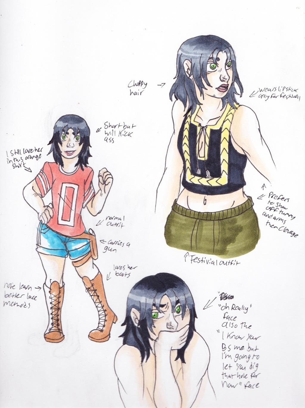 Alice Ref sheet by emilyk949