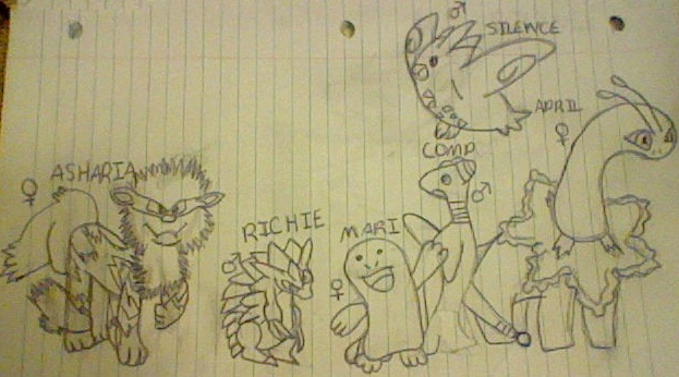 HeartGold Team Picture by RachelJourneyT8