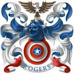 Steve Rogers Coat of Arms - Hero! Armorial #4