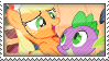 ApplePike stamp -request-. by xMayii
