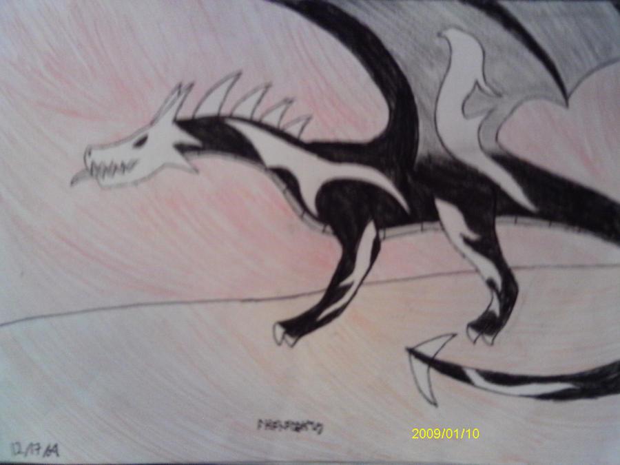 Apocalypse Dragon by Spritle22