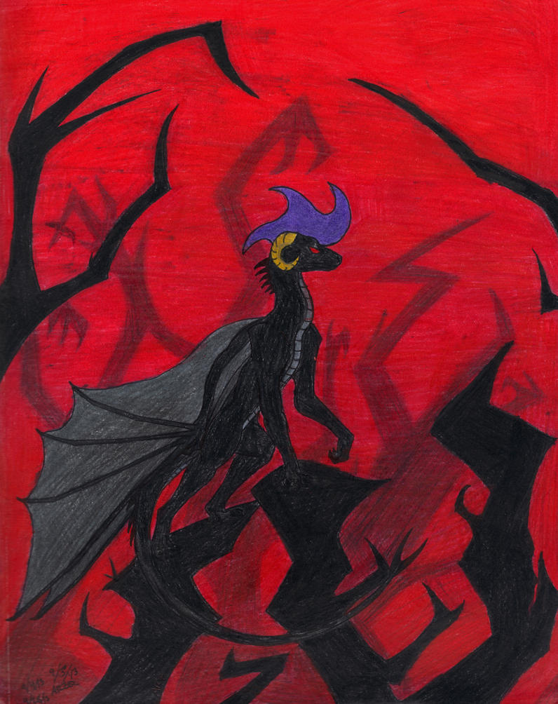 Fiery Slate by Spritle22