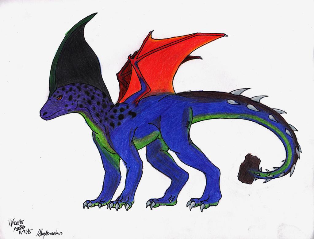 Allopterosuchus Ref by Spritle22