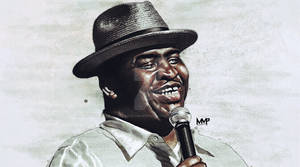 Patrice O'Neal drawing (color)