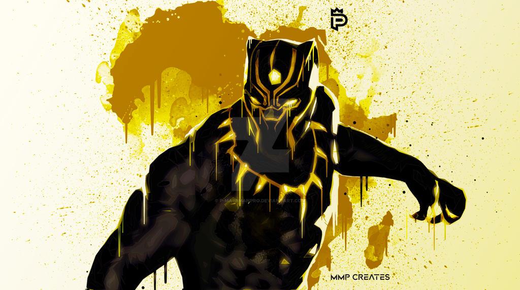 Black Panther (King T'Challa) [1] by P-MassManPro