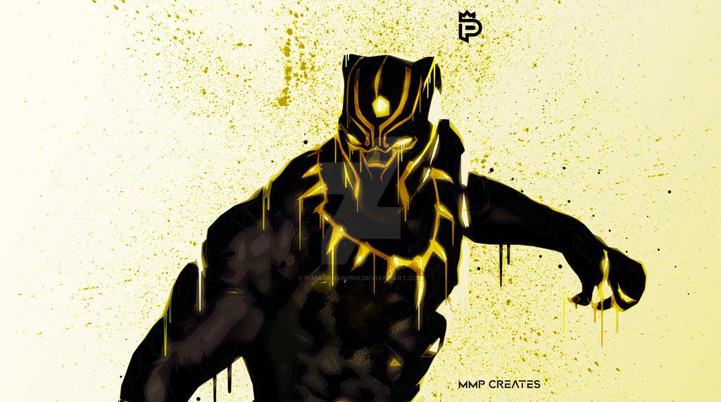 Black Panther (King T'Challa) [2] by P-MassManPro