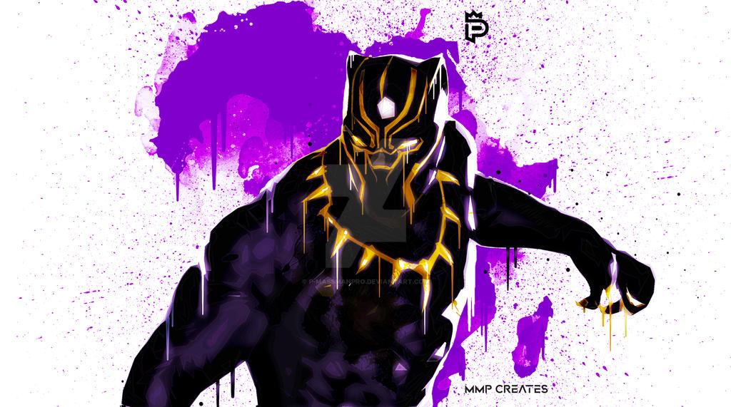 Black Panther (King T'Challa) [3] by P-MassManPro