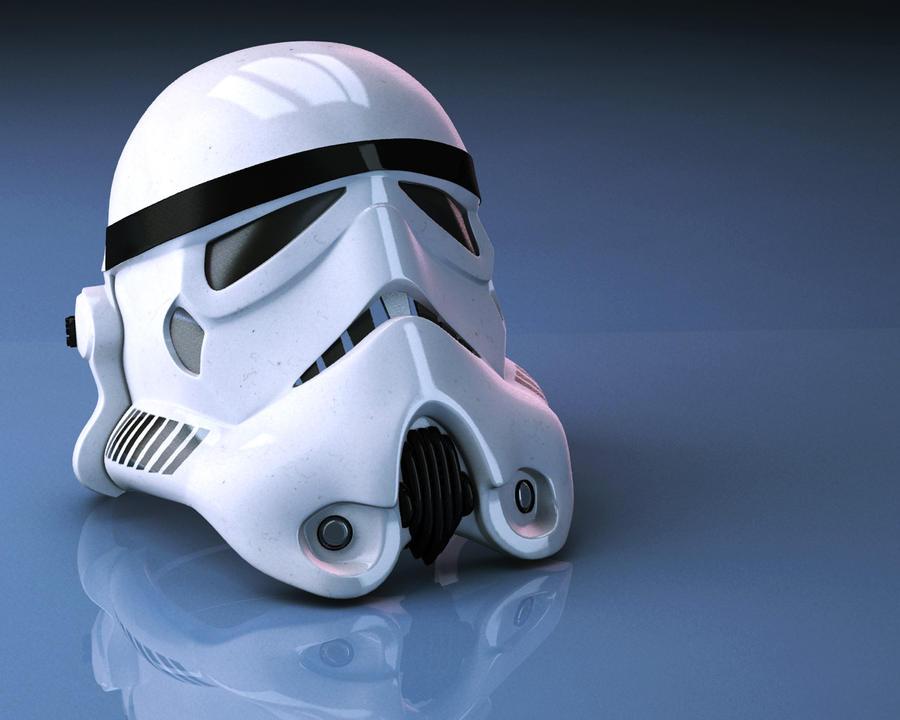 Stormtrooper helmet by pavolsvk