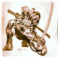 Deadpool (Pencil Drawing Instagram) by GtrPlaya82