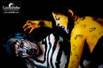 Cheetah-Zebra Makeup