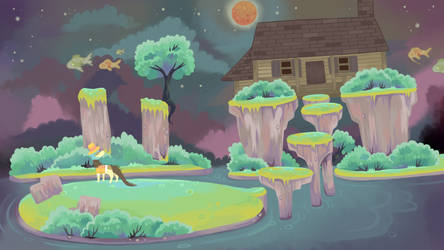 Spirit world by lizzardblackrose
