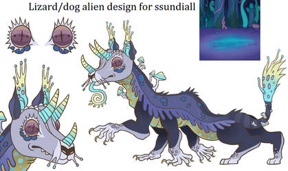 design commission for ssundiall by lizzardblackrose