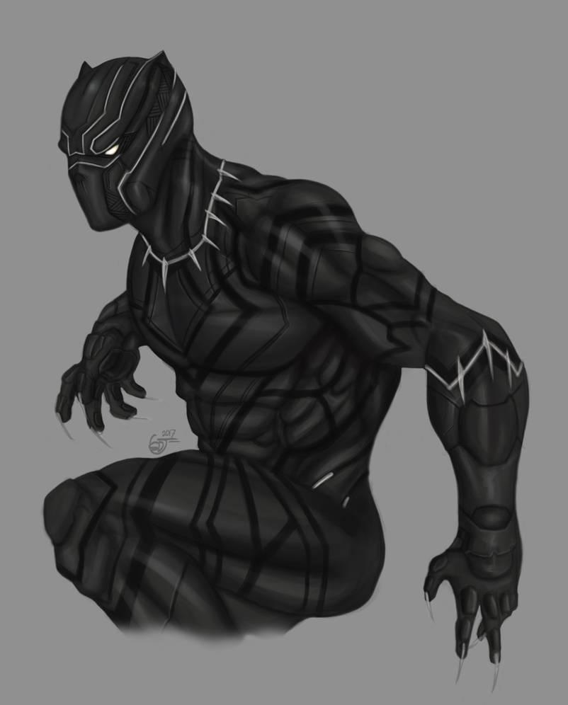 Black panther the king of wakanda by saifuddindayana