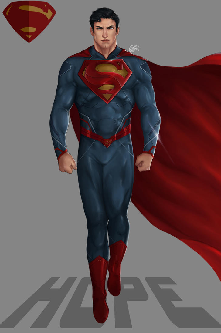 Hope-Superman by SaifuddinDayana