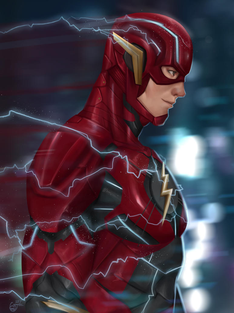 The Flash by SaifuddinDayana