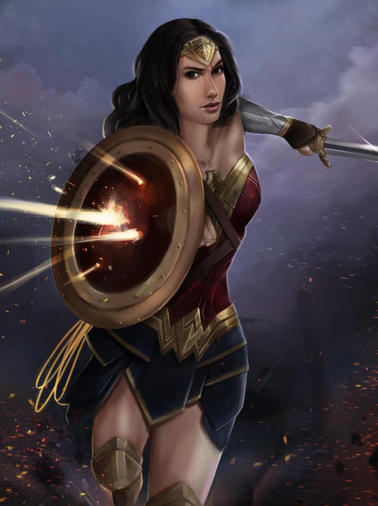 Wonder Woman by SaifuddinDayana