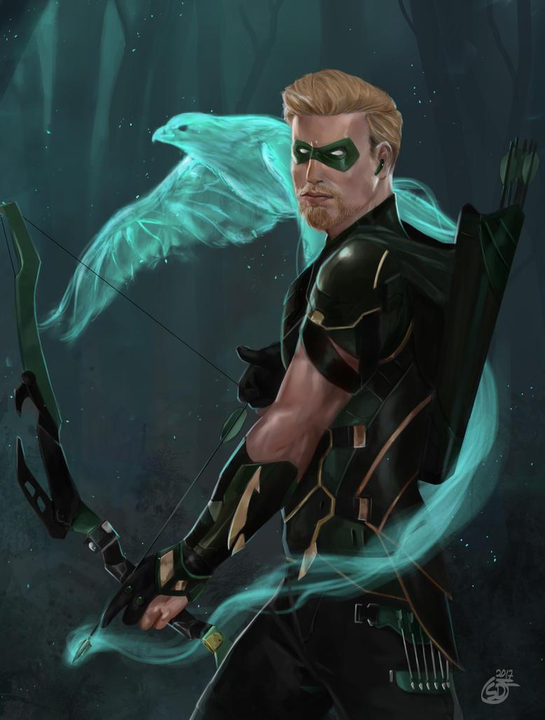 Green Arrow by SaifuddinDayana