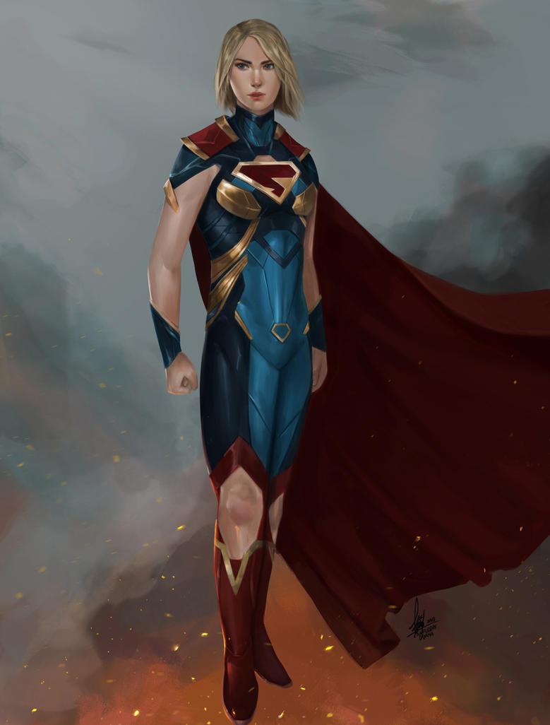 Supergirl by SaifuddinDayana